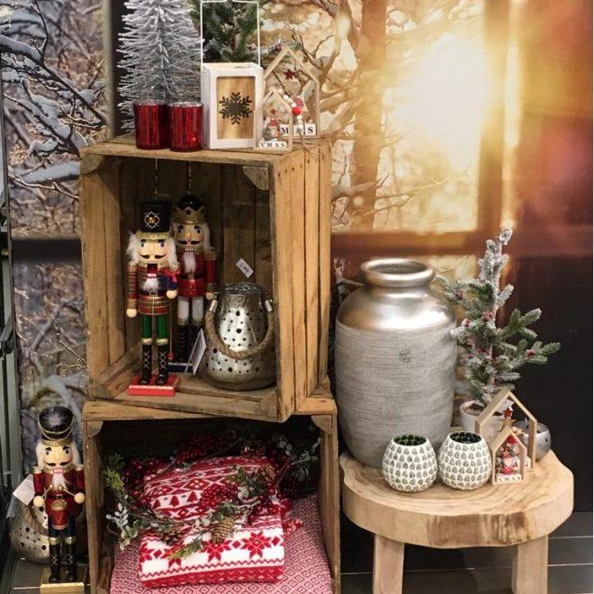 Instore Presenatie Kerst